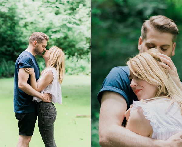 HANNAH AND BEN'S STOKE PRE-WEDDING SHOOT