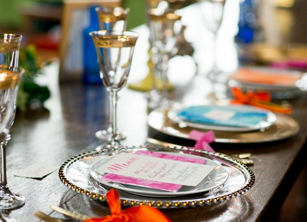 A BRIGHT AND COLOURFUL WEDDING INSPIRATION SHOOT AT HOGHTON TOWER