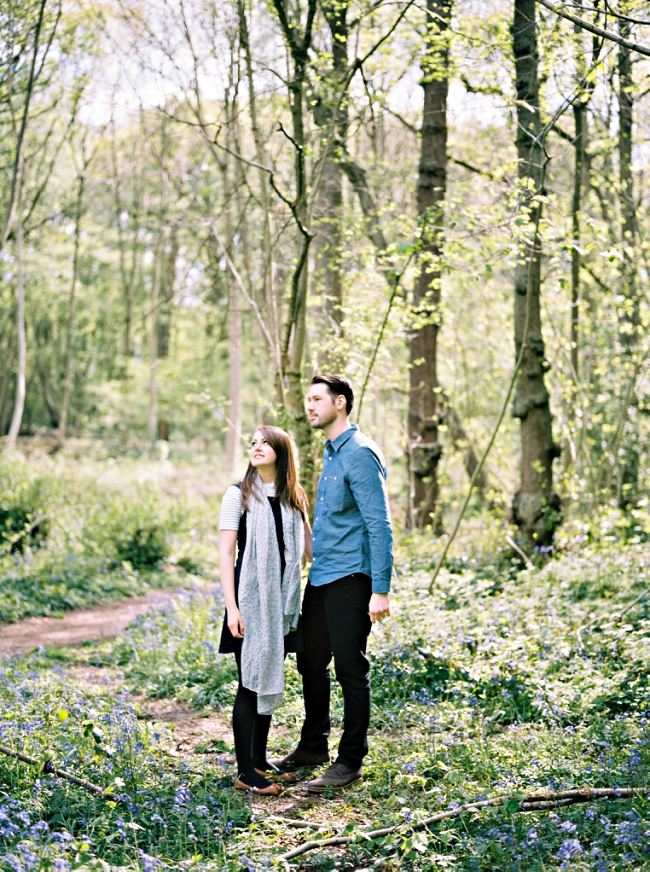 COUPLE ON A PRE WEDDING SHOOT AT BRADGATE PARK