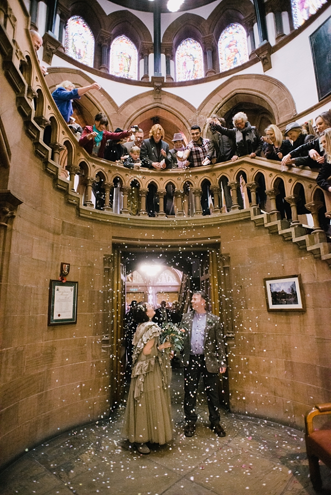 confetti at chester town hall