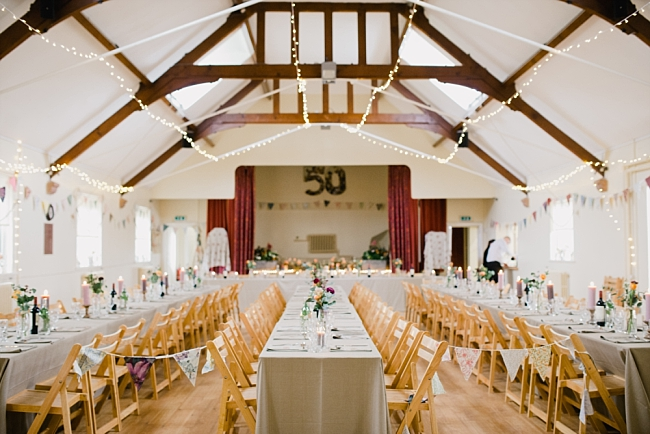 surprise party and wedding at Eccleston Village hall