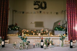 Eccleston village hall surprise wedding and birthday party