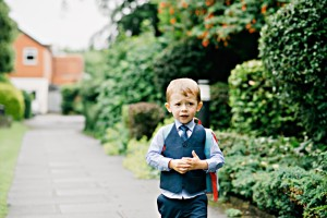 pageboy with backpack