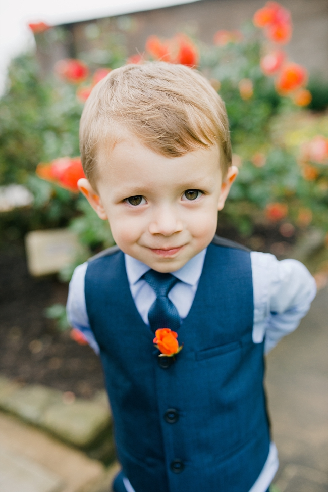 pageboy in suit