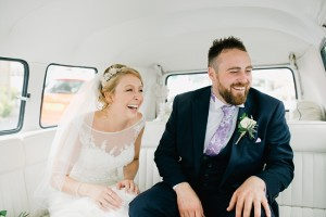 couple in VW camper