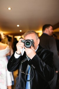 guest with a camera