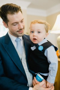 pageboy and dad