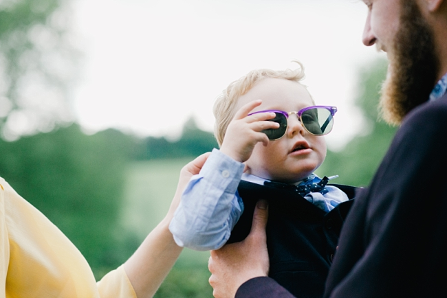 pageboy in sunglasses