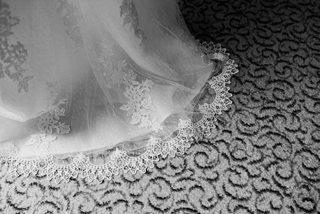 lace on the carpet
