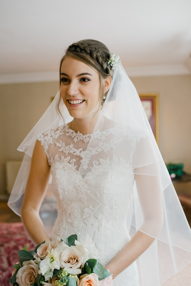 veil and lace