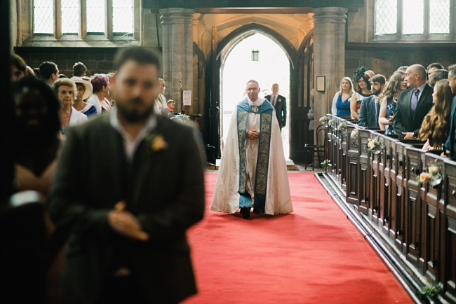 father of the groom vicar