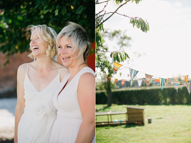 relaxed outdoor wedding wales