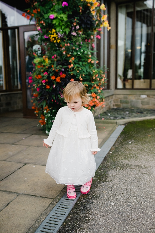 flowergirl wellies