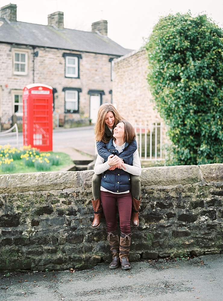 AMY + AMY'S PRE-WEDDING SHOOT IN WADDINGTON VILLAGE