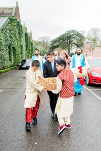 muslim procession at the mere
