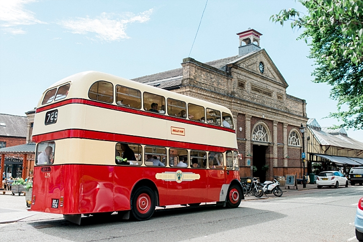 vintage wedding bus altrincham