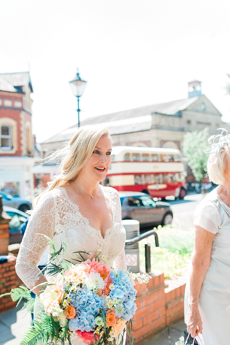 bride at altrincham town hall