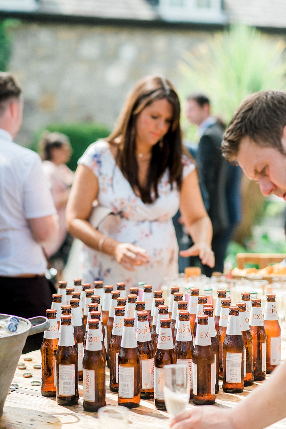 beer for wedding guests