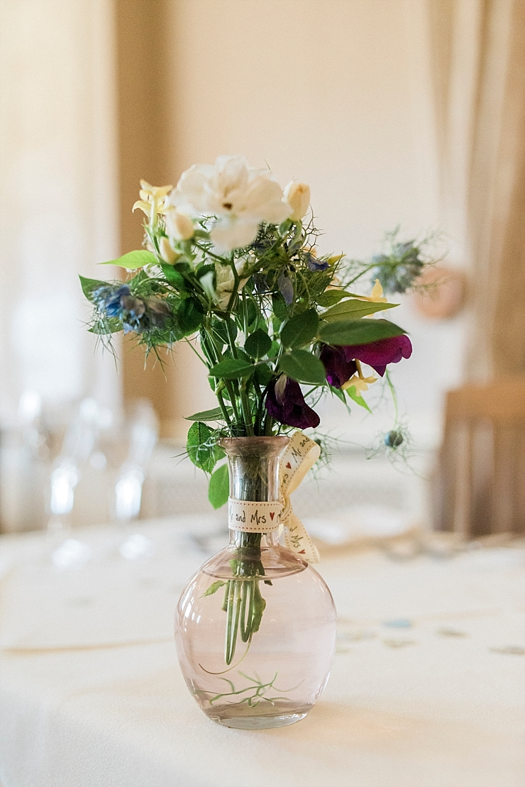 hand picked flowers for wedding