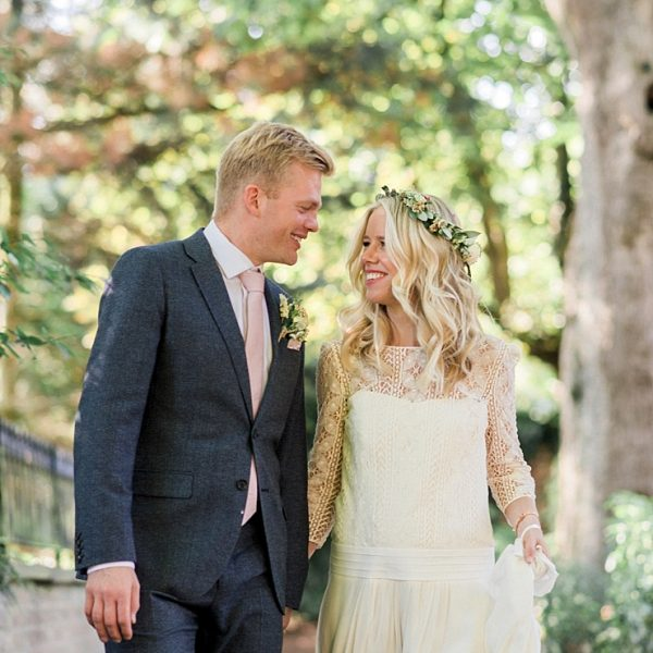 AN OUTDOOR WEDDING IN MANCHESTER AT DIDSBURY PARK