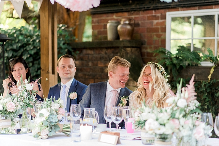 outdoor wedding in manchester