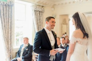 personalised vows