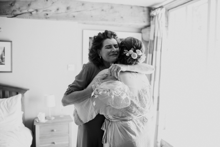 mother of bride reaction