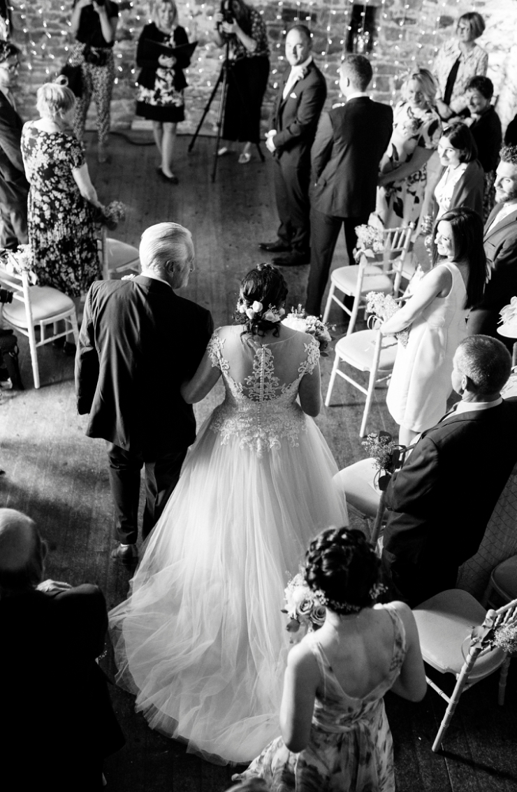 walking down the aisle knipe hall