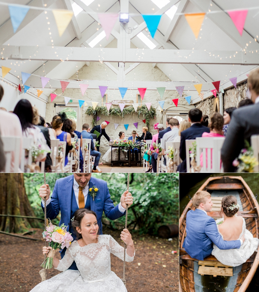 wedding at wyresdale park