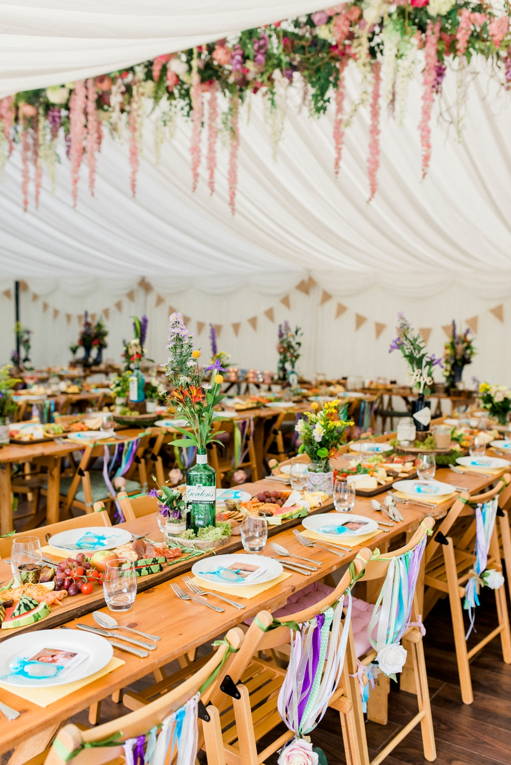 A woodland, festival wedding in Lancashire | Bruce and Holly at Spring Cottage