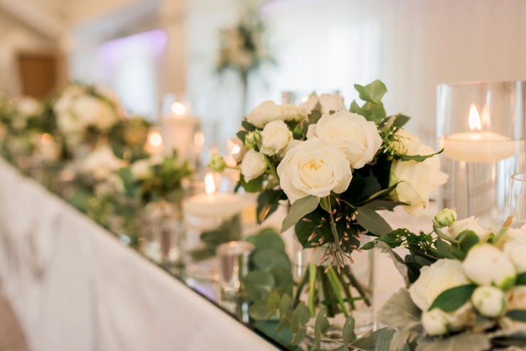 wedding flowers by the flower shop clitheroe