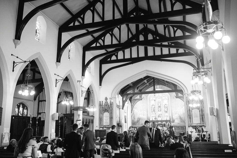 st cuthberts church lytham wedding ceremony