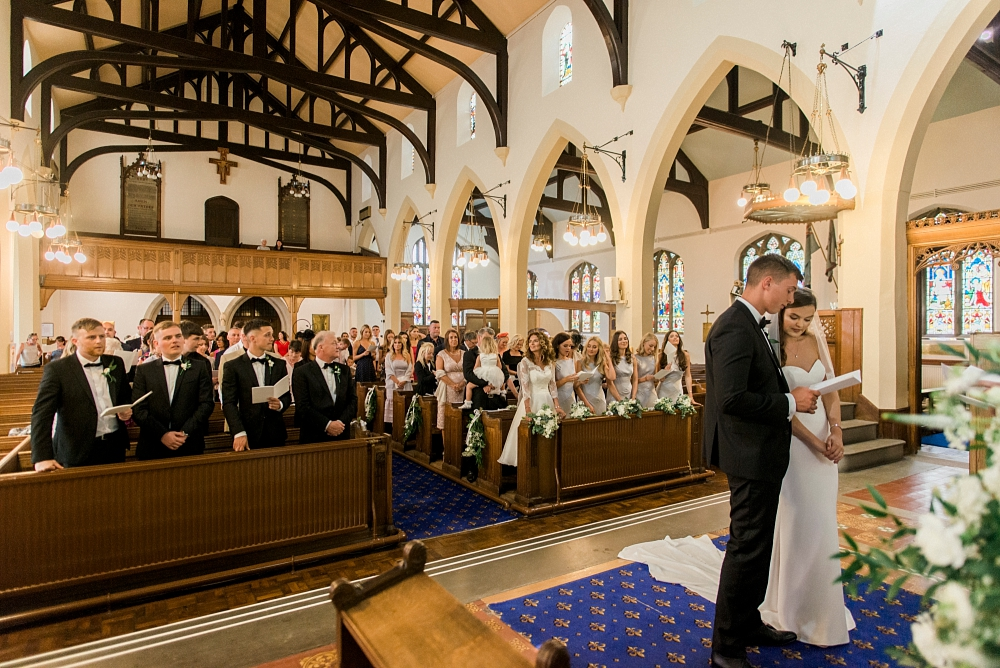 church wedding in lytham