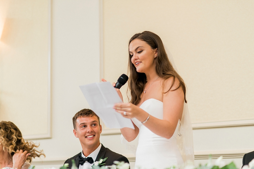 bride's speech