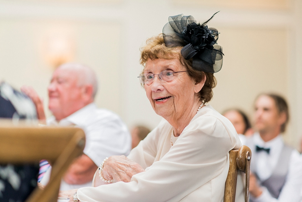 granma at wedding