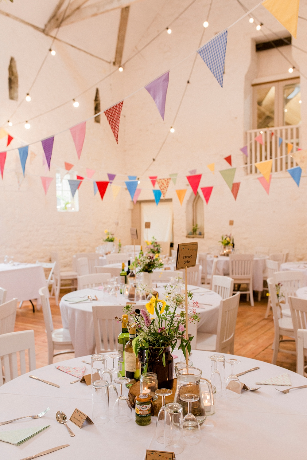 colourful wedding at wyresdale park