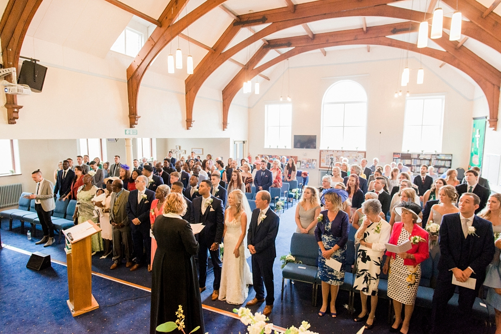seedfield methodist wedding ceremony