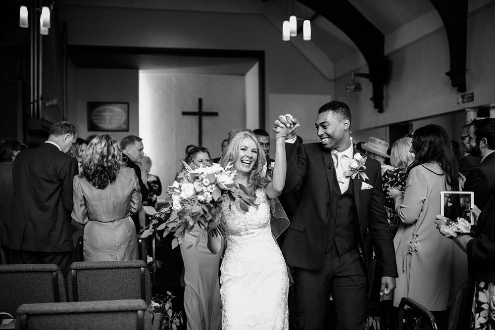 church wedding bury
