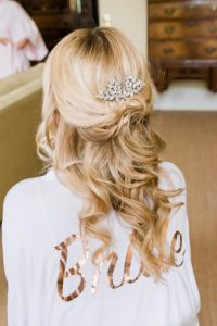 bridal hair by Charlotte Mahoney