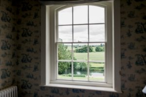 window at Ardington House near Oxford