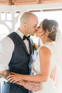 wedding ceremony at Knowsley registry office