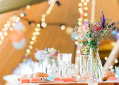tipi wedding decor