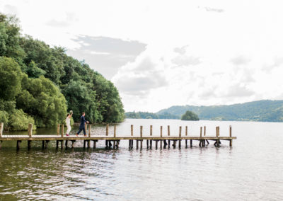 wedding at lake windermere