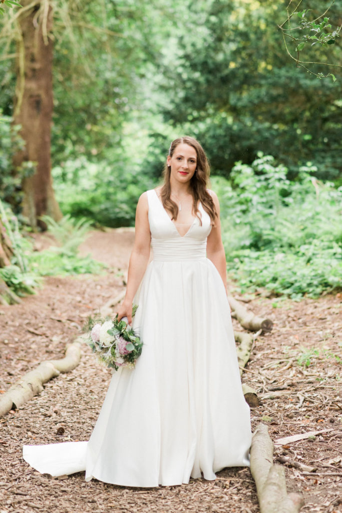 bride at wyresdale park