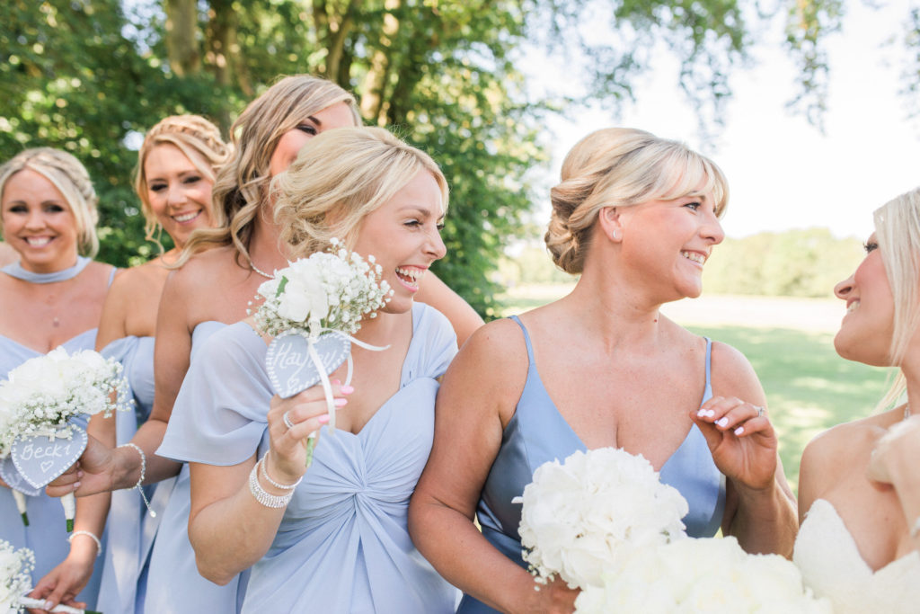 bridesmaids at the mere resort knutsford