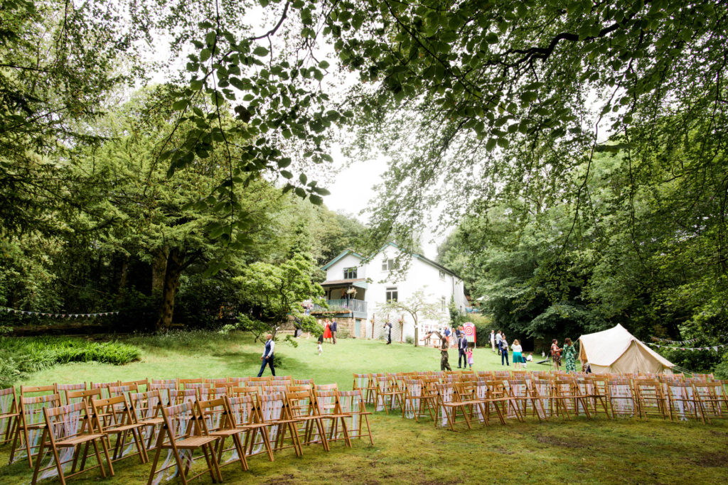 forest wedding in Lancashire