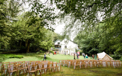 A forest wedding in Lancashire – Sarah and Andy at Spring Cottage