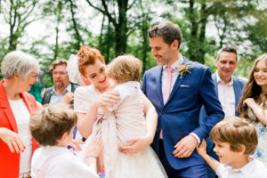 festival style forest wedding at spring cottage