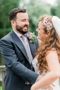 Thornton Manor lakeside marquee wedding
