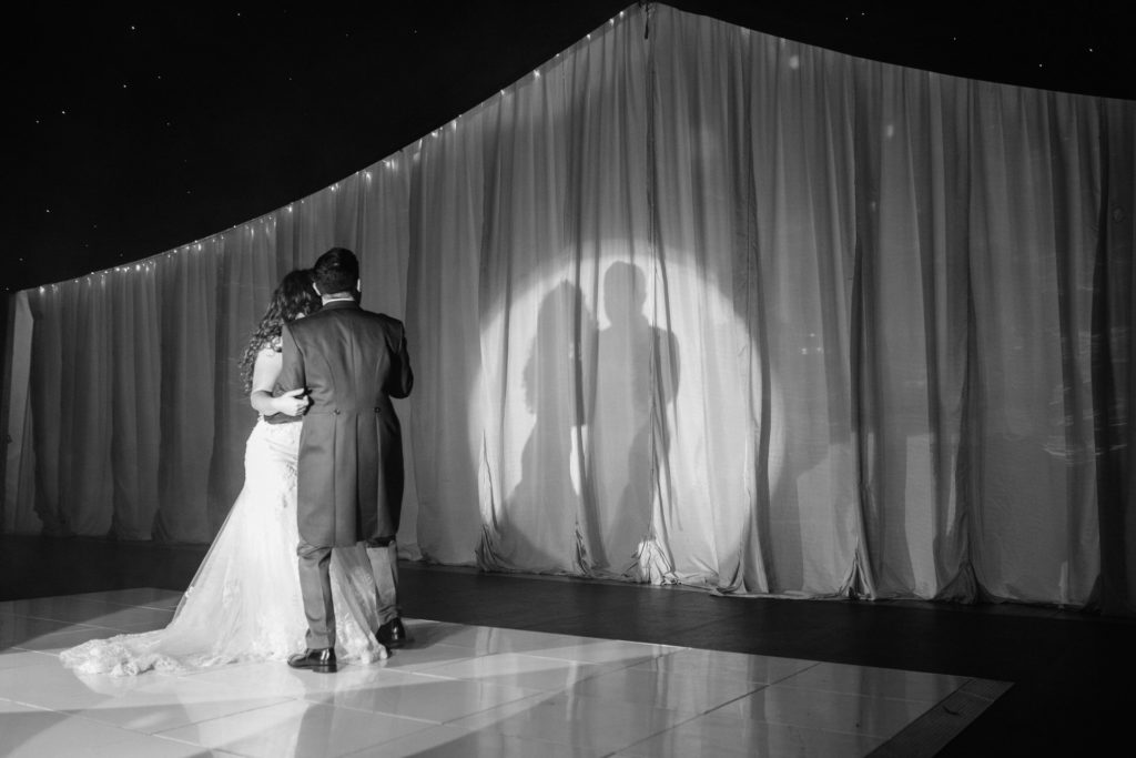 first dance silhouette Thornton Manor